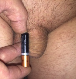 Baby dick with aaa battery