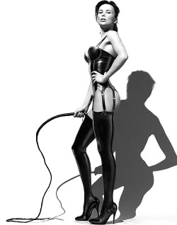 Mistress Can't Wait to Whip Your Ass Raw