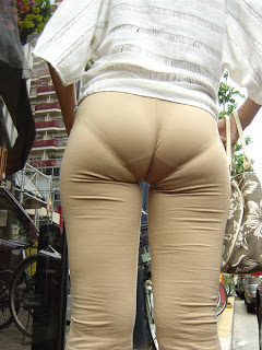 Skin Tight Pants and Visible Panty Lines (VPL)