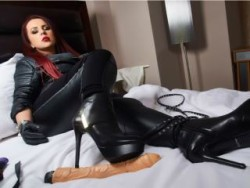 Dominant Mistress Controls Cocks and Wallets