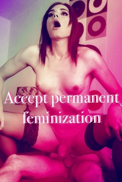 Accepted, craved and waiting to be claimed as personal property for Sissy/slave/slut/cockwhore f ...