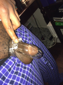 All Tiny Black Dicks Need Chastity