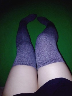 Thigh High Socks Are Such a Cock Tease