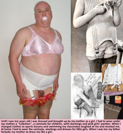 A pathetic sissy's sex life #1: Already a little girl when I was a boy…