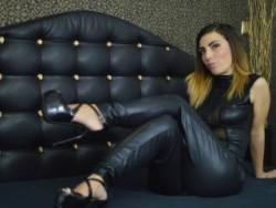 Dominatrix Cam Show with a Live Mistress