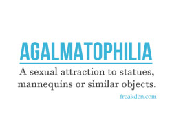 Agalmatophilia: For the Love of Statues and Mannequins Too