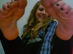 Foot Slave Gets Laughed at and Humiliated
