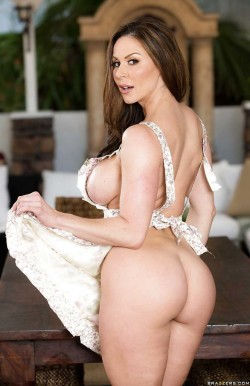 Kendra Lust Wearing Nothing But Apron