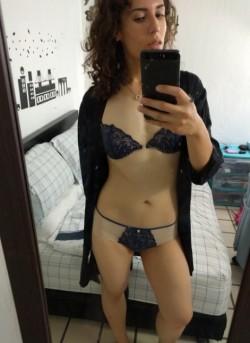 Kinky Trans Princess with a Big Uncut Girl-Cock
