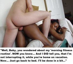 Caught Ebony Wife Banging White Personal Trainer
