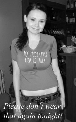 My Husband's Dick is Tiny Tee Shirt LOL