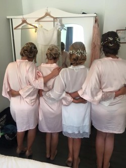 Wedding Party Visible Thong Line Spotted