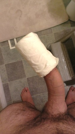 """Wife heard about the """"toilet roll"""" test"""