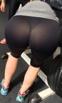 Craving panties and VPLs? Join a gym!