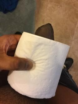 Tiny Black Dick Slave Reattempts TP Roll Test
