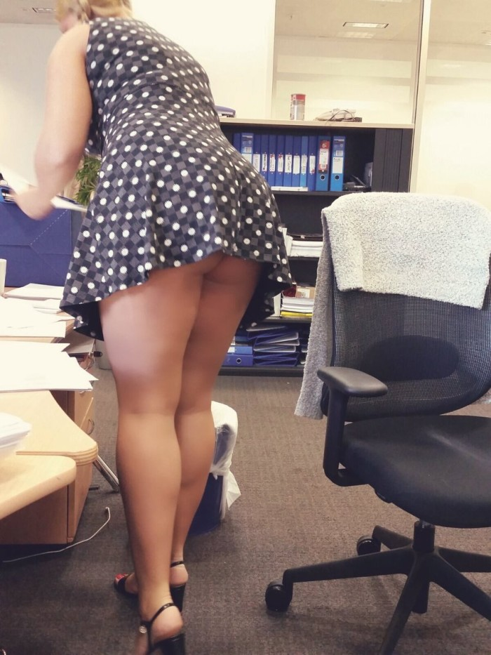 Married chick shows how to get a promotion fast