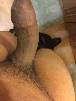 Small Black Dick Preparing for Dungeon Pleasures
