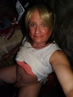 Horny sissy