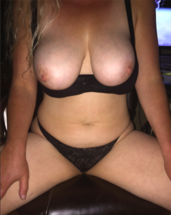My blonde wife nude