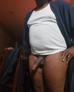 5 Inch Black Dick with Nice Man Tits