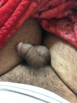 Thick thighs and a small cock