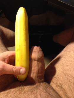 Small Penis Does the Banana Challenge
