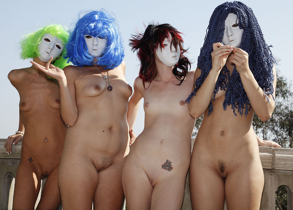 pictures Halloween nude
