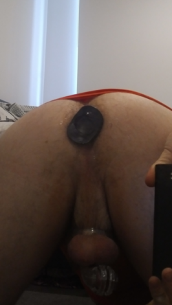 Ex told her friends about my chastity cage and butt plugs