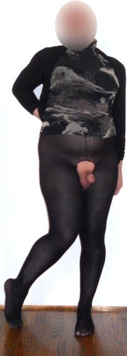 Sissy Clitty Popped Out Her Pantyhose