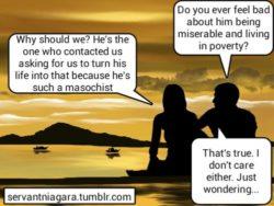 Couples fucks over finsub slave and don't care