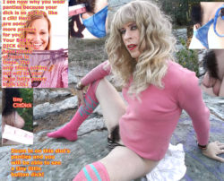 Panties are the perfect fit for this sissy slut's tiny shriveled Micro Dick! Ladies it is  ...
