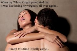 Having sex with a white guy is like losing your virginity all over again