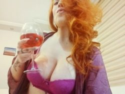 Worshiping Redheads with Big Tits is a Privilege