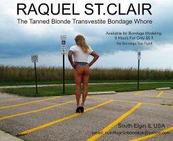 Raquel St.Clair Outdoors in Cheeky Daisy Duke Micro-Shorts