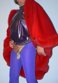 I am a rubber sissy! Wtf kinda superhero is that?!