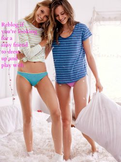 Dreaming about a sissy friend?