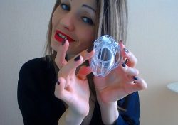 Chastity Slave Webcam Mistress and Key Holder