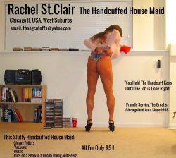 The Slutty Handcuffed House Maid Works Cheap