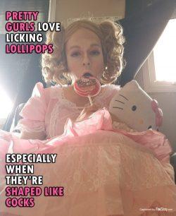 Sissy Girls Totally Like Love Licking Tasty Stuff – Sissification Captions