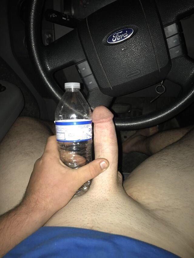 Scrawny Boner Couldn't Handle Water Bottle Challenge