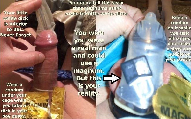 Sissy Fails Magnum Challenge!