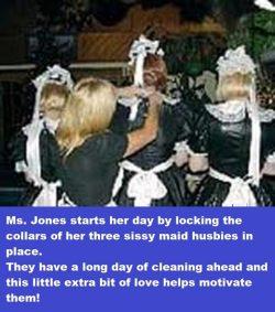 Three Little Sissy Maids