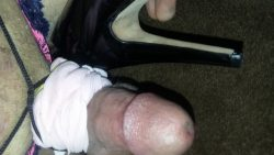 Lost measure off badly vs high heel after my ballbusting and it…