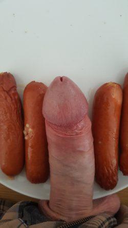 Small Boner vs Even Smaller Hot Dogs