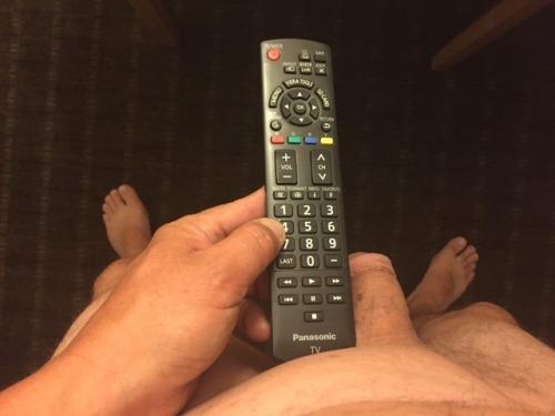 Tiny Dick vs Thin Remote Control