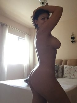 Brazilian Wife Showing Off Them Curves