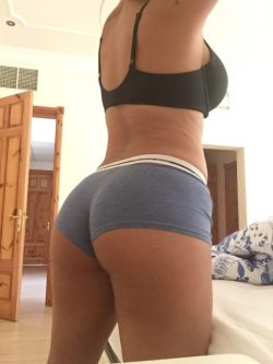 Plump Booty Brazilian Wife in Her Underwear