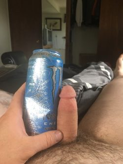 Monster energy but a miniature dick
