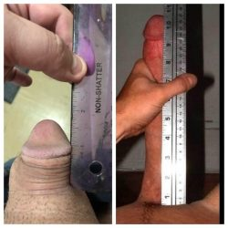 My ex keeps sending me pics of her new bf's cock!