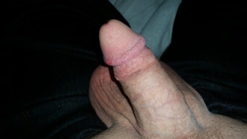 My freshly shaved clit dick